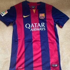 Official Barcelona team jersey